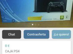 CAJA PS4