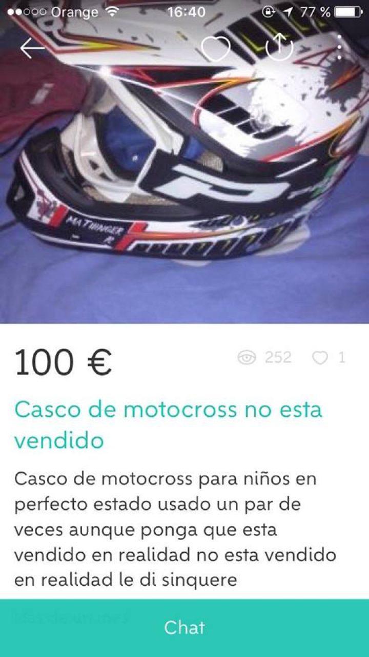 CASCO DE MOTOCROSS