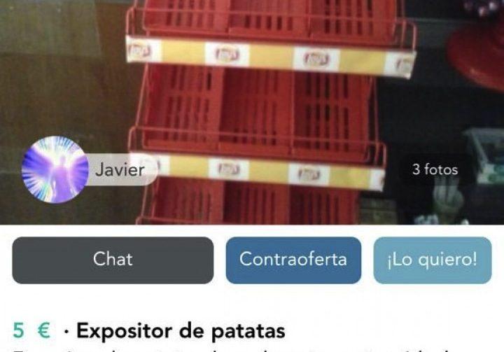 EXPOSITOR DE PATATAS