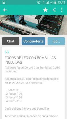 FOCOS DE LED