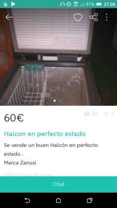 """""""HALCON EN PERFECTO ESTADO"""""""