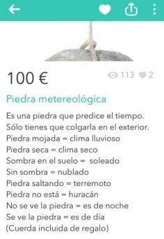 PIEDRA METEOROLÓGICA