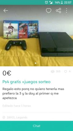 PS4 GRATIS