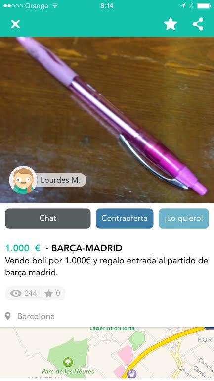 Barça-Madrid (boli)