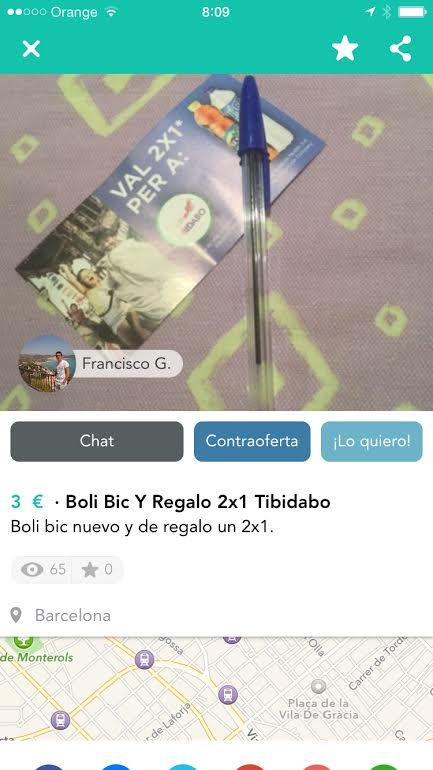 Boli BIC + entradas Tibidabo