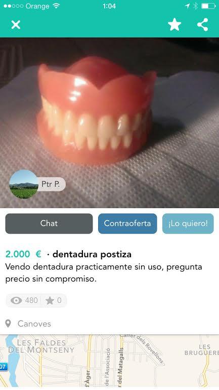 Dentadura postiza 2.000€