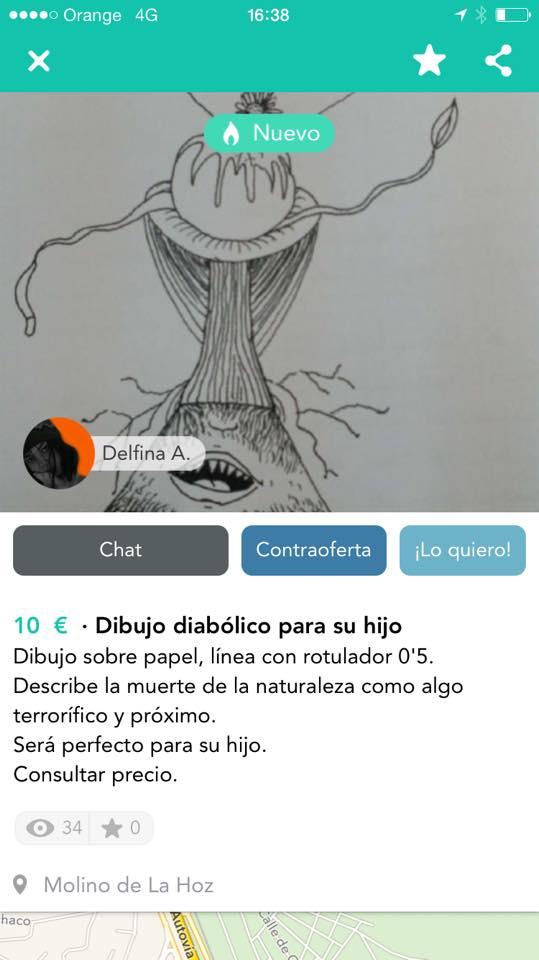Dibujo diabólico 1