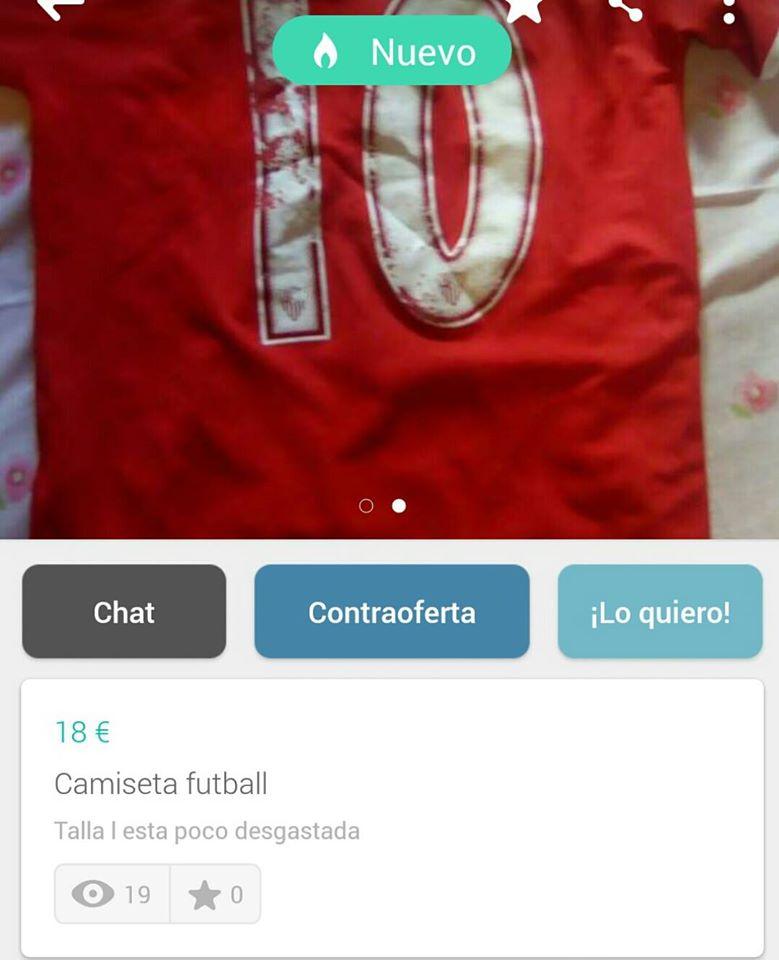 Camiseta futball
