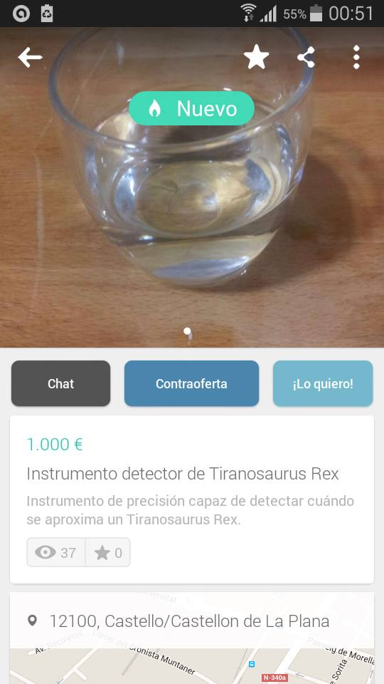 Instrumento detector