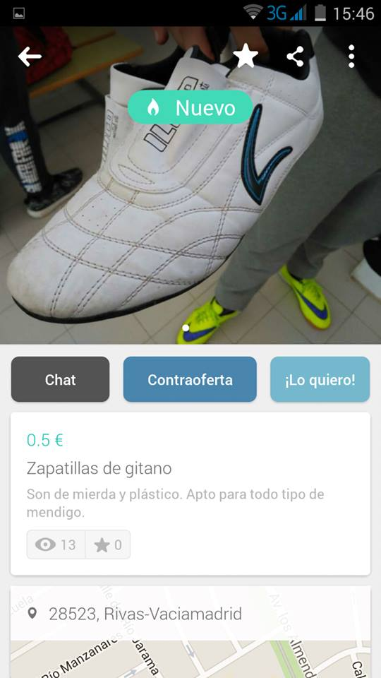 Zapatillas de gitano