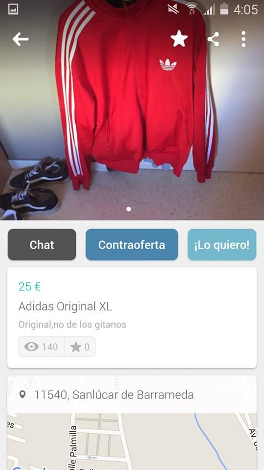 Adidas original no de los gitanos