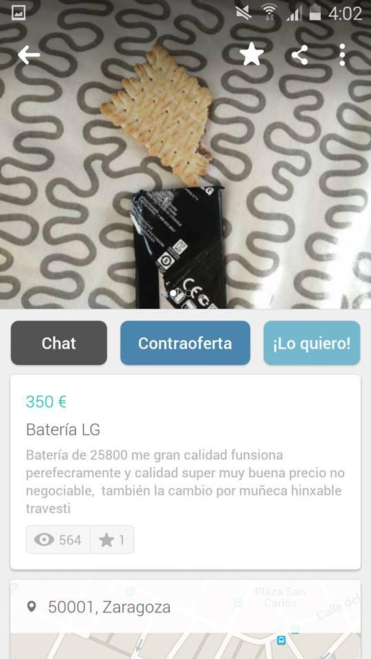 Bateria LG