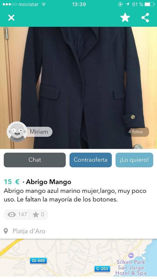 abrigo mango