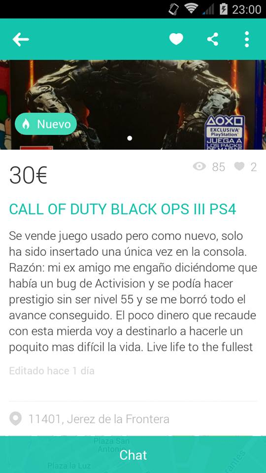 Call of dutty examigo
