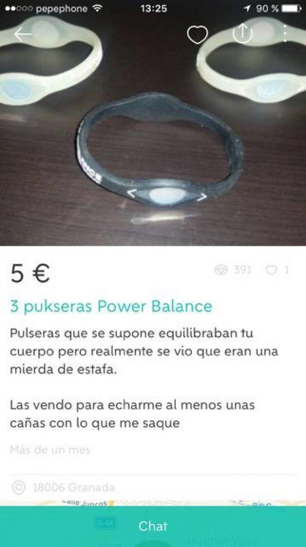 PULSERAS POWER BALANCE