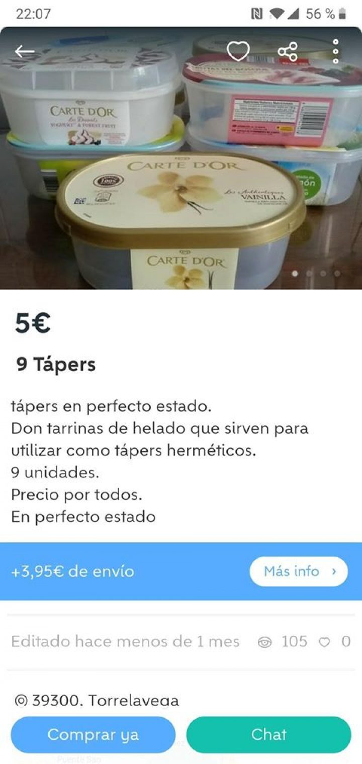 9 TUPPERS
