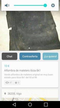 ALFOMBRA DE MALETERO