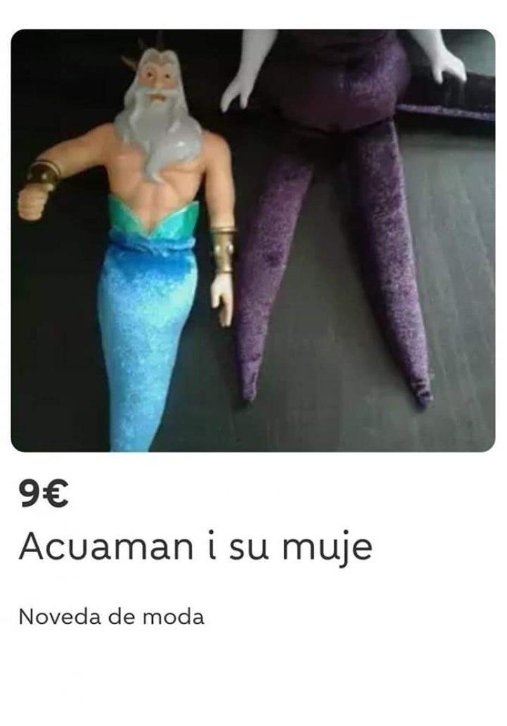 """""""AQUAMAN Y SU MUJE"""""""