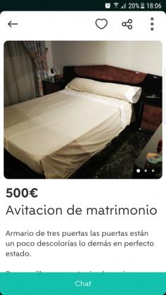 CAMA MATRIMONIO