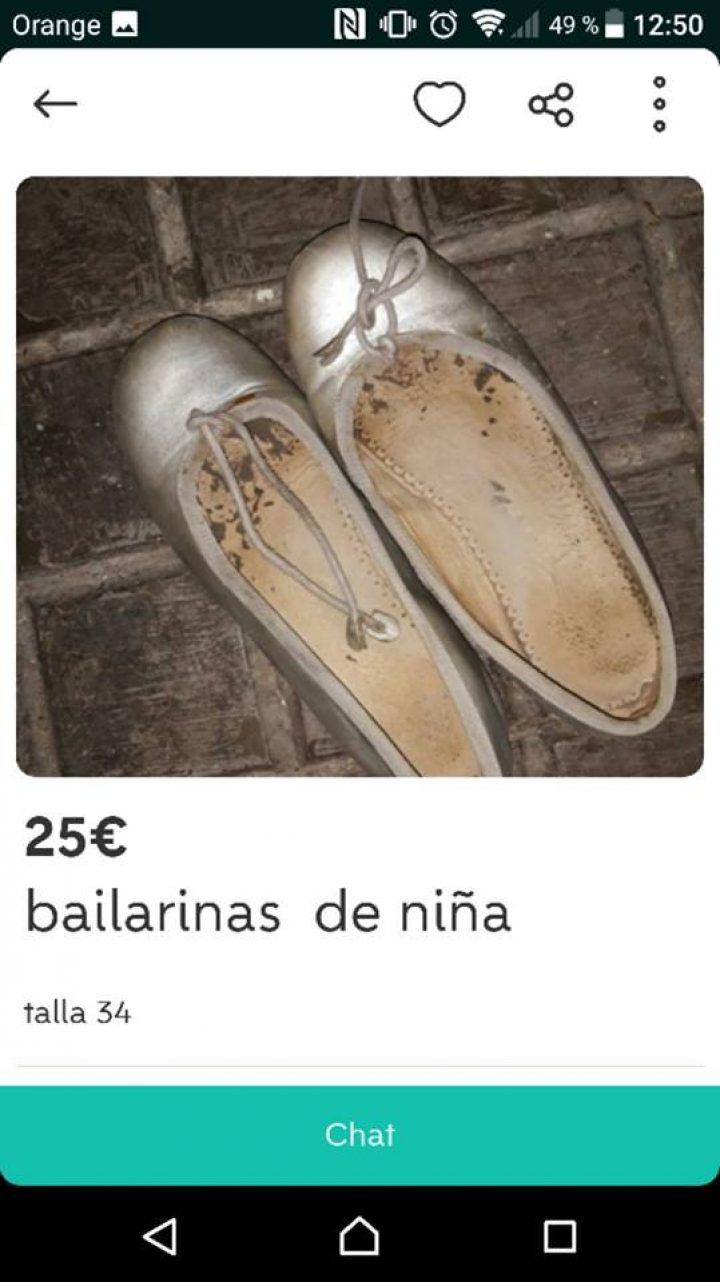 BAILARINAS DE NIÑA