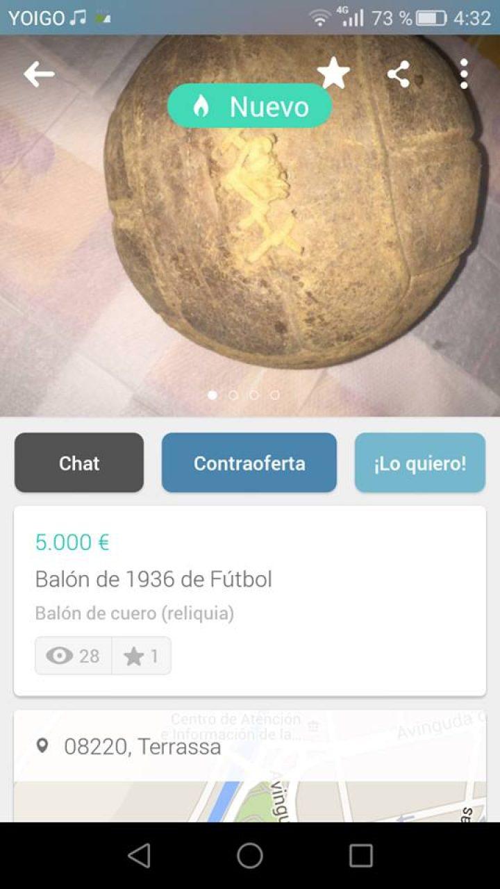BALÓN DE 1936