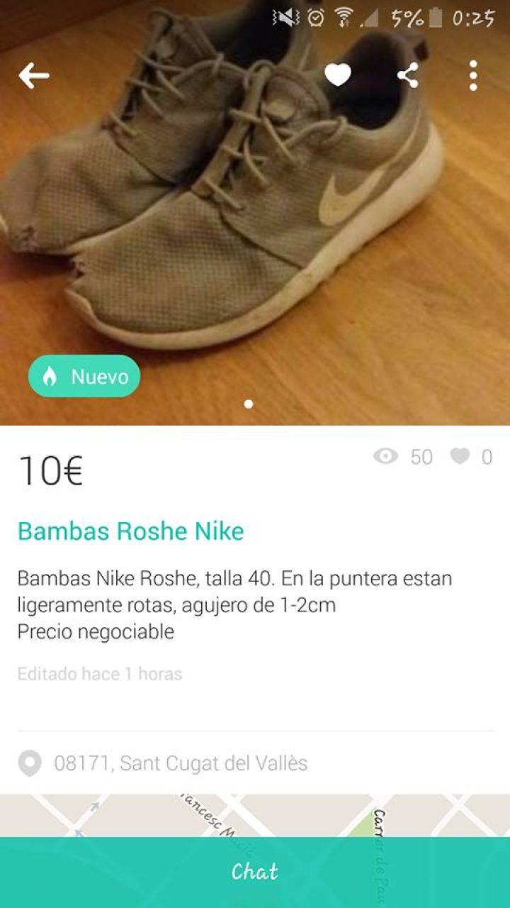 BAMBAS ROSHE NIKE