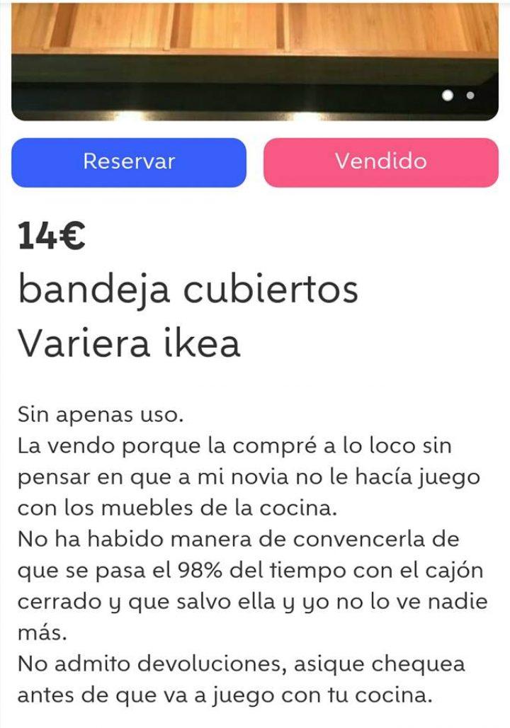 BANDEJA CUBIERTOS