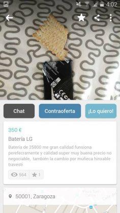 BATERÍA LG