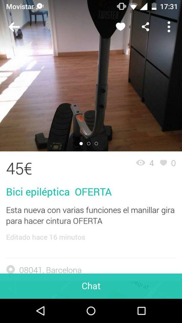 BICI EPILÉPTICA