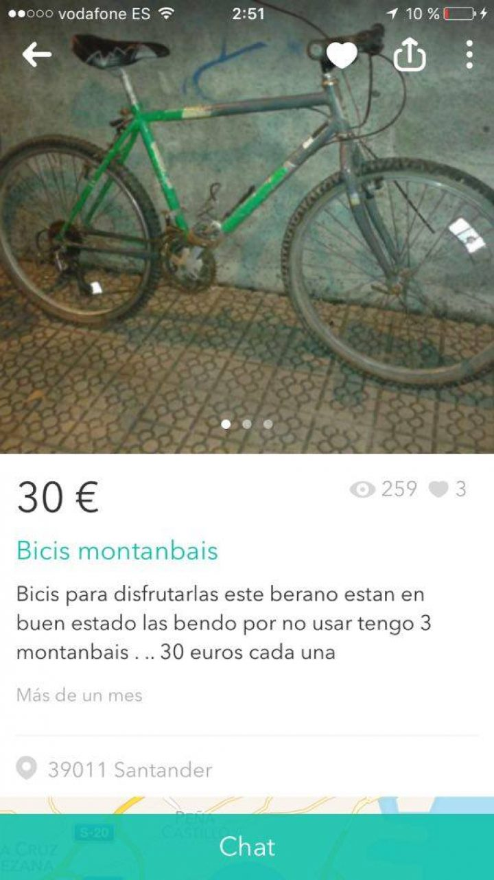 """BICIS MONTANBAIS"""