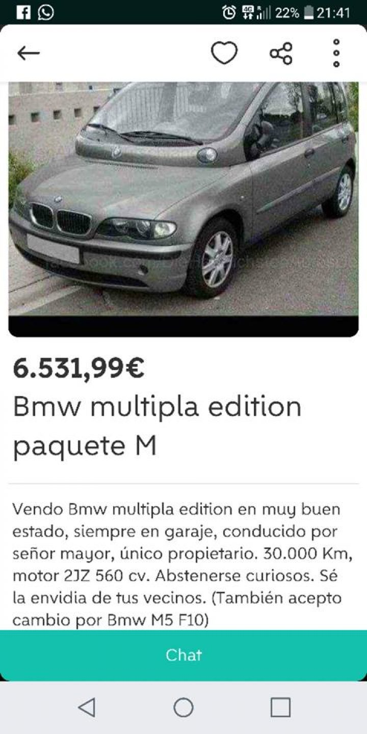 BMW MULTIPLA