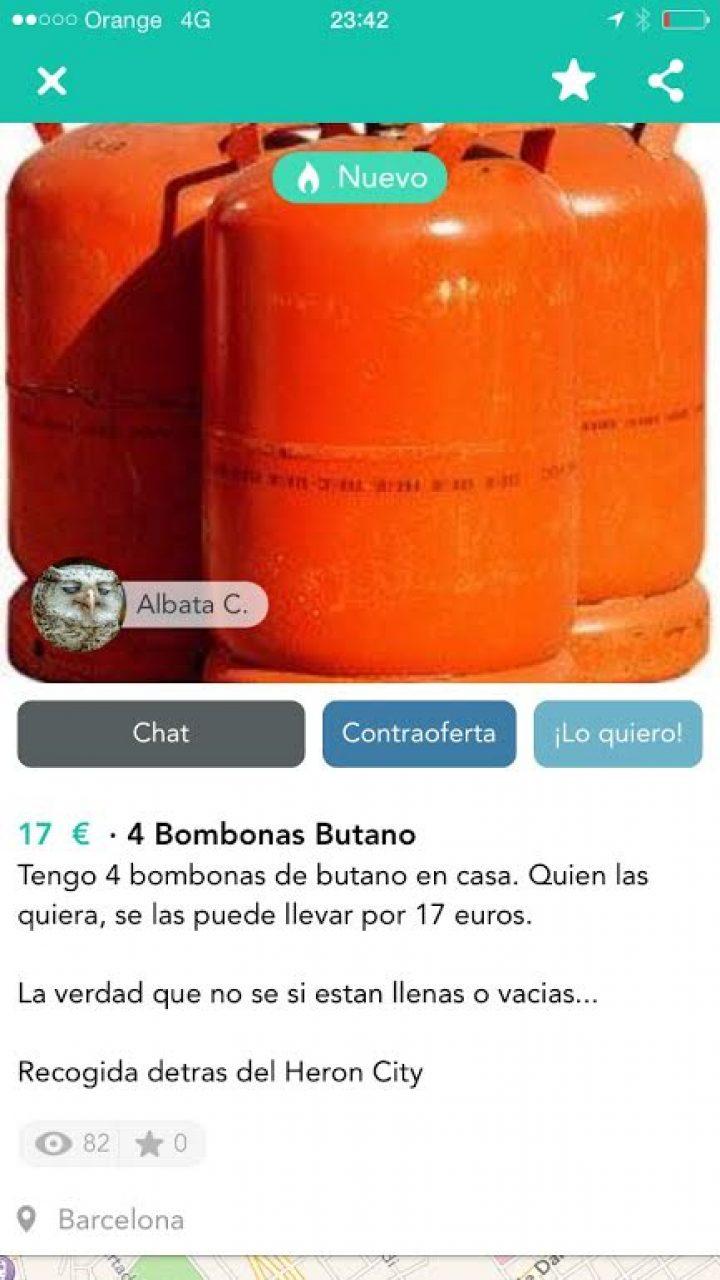 BOMBONAS DE BUTANO