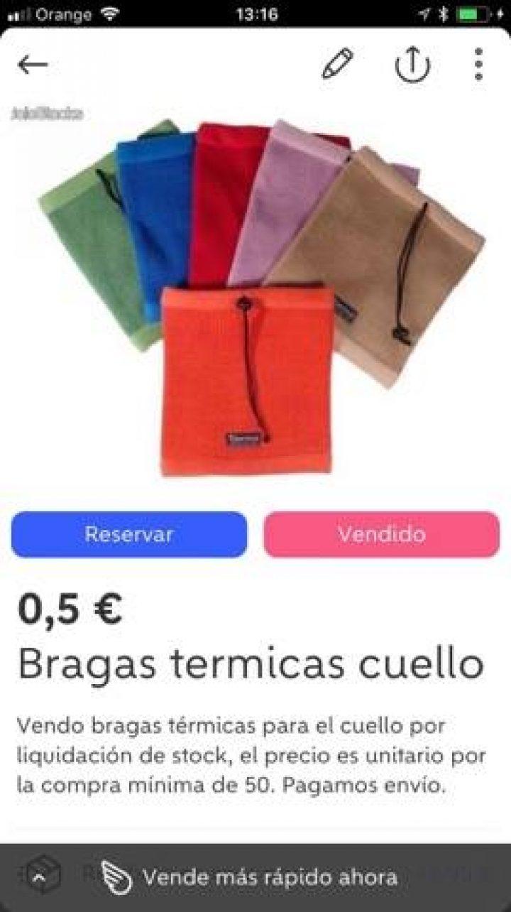 BRAGAS TÉRMICAS CUELLO