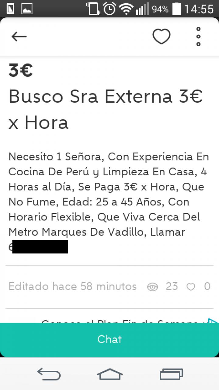 BUSCO SRA. EXTERNA