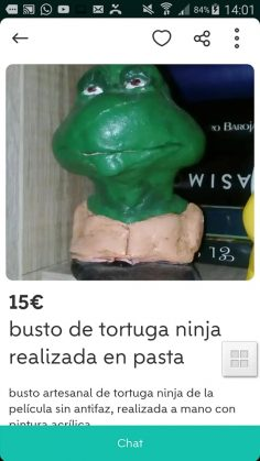 BUSTO DE TORTUGA NINJA