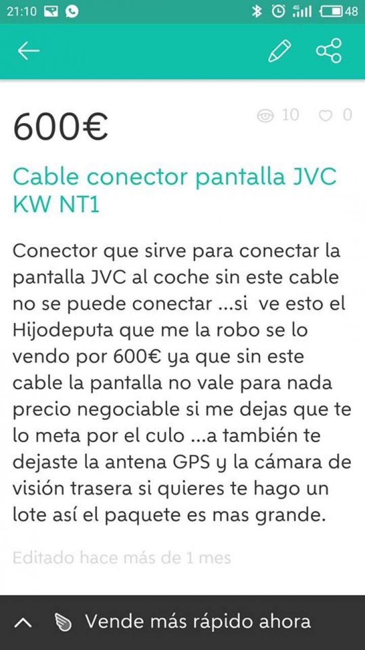 CABLE CONECTOR
