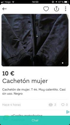 """CACHETÓN"" MUJER"
