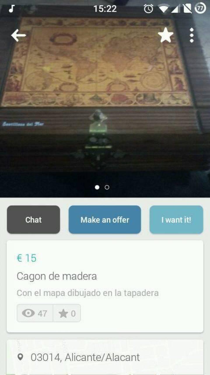 CAGON DE MADERA