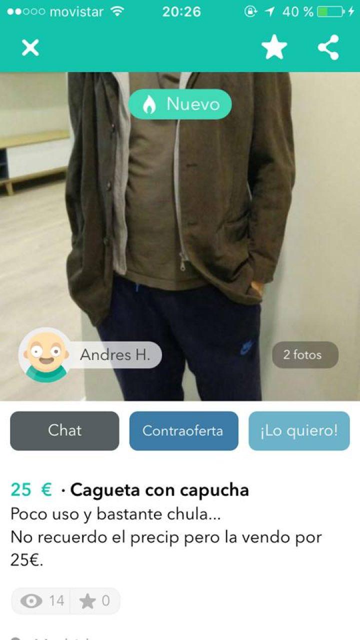 CAGUETA CON CAPUCHA