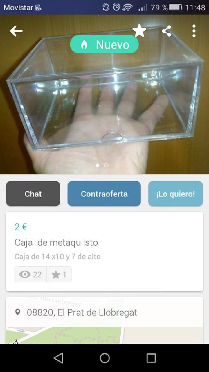 CAJA DE METAQUILSTO