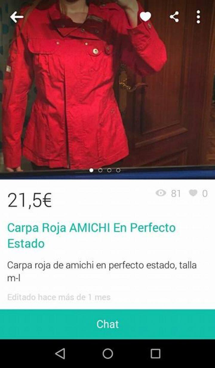 CARPA ROJA AMICHI