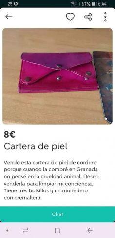 CARTERA DE PIEL