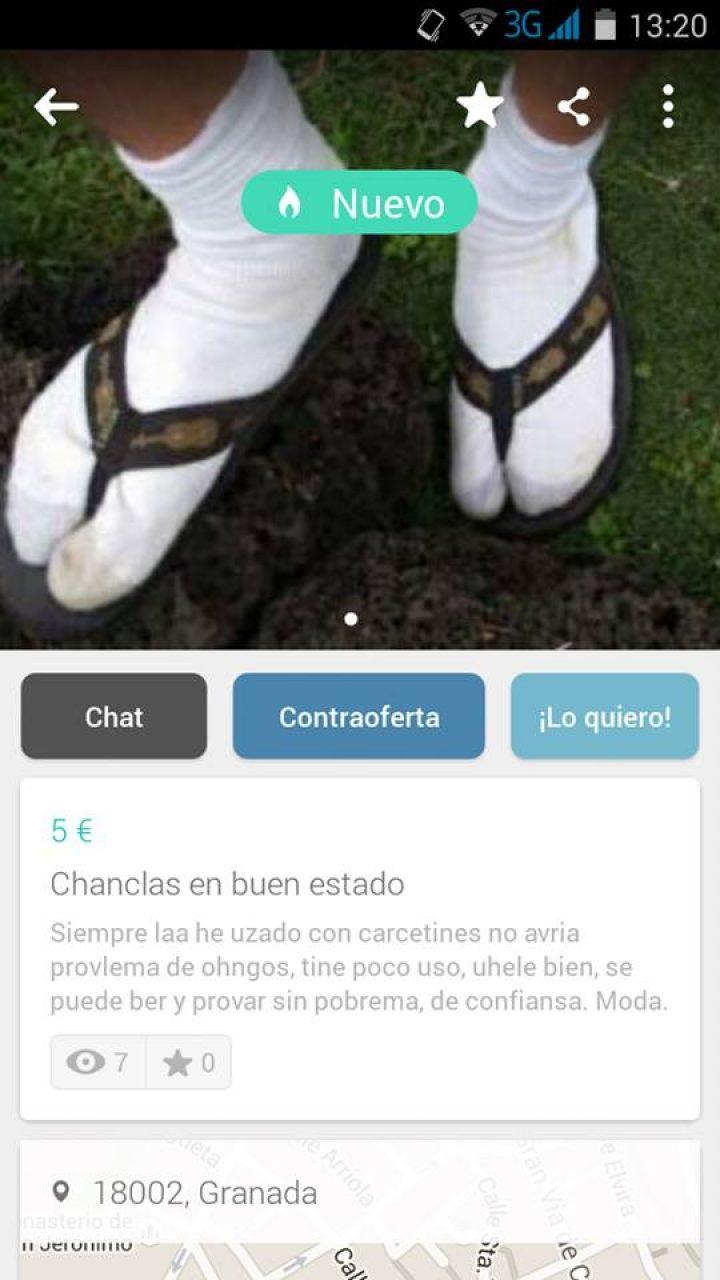 CHANCLAS EN BUEN ESTADO