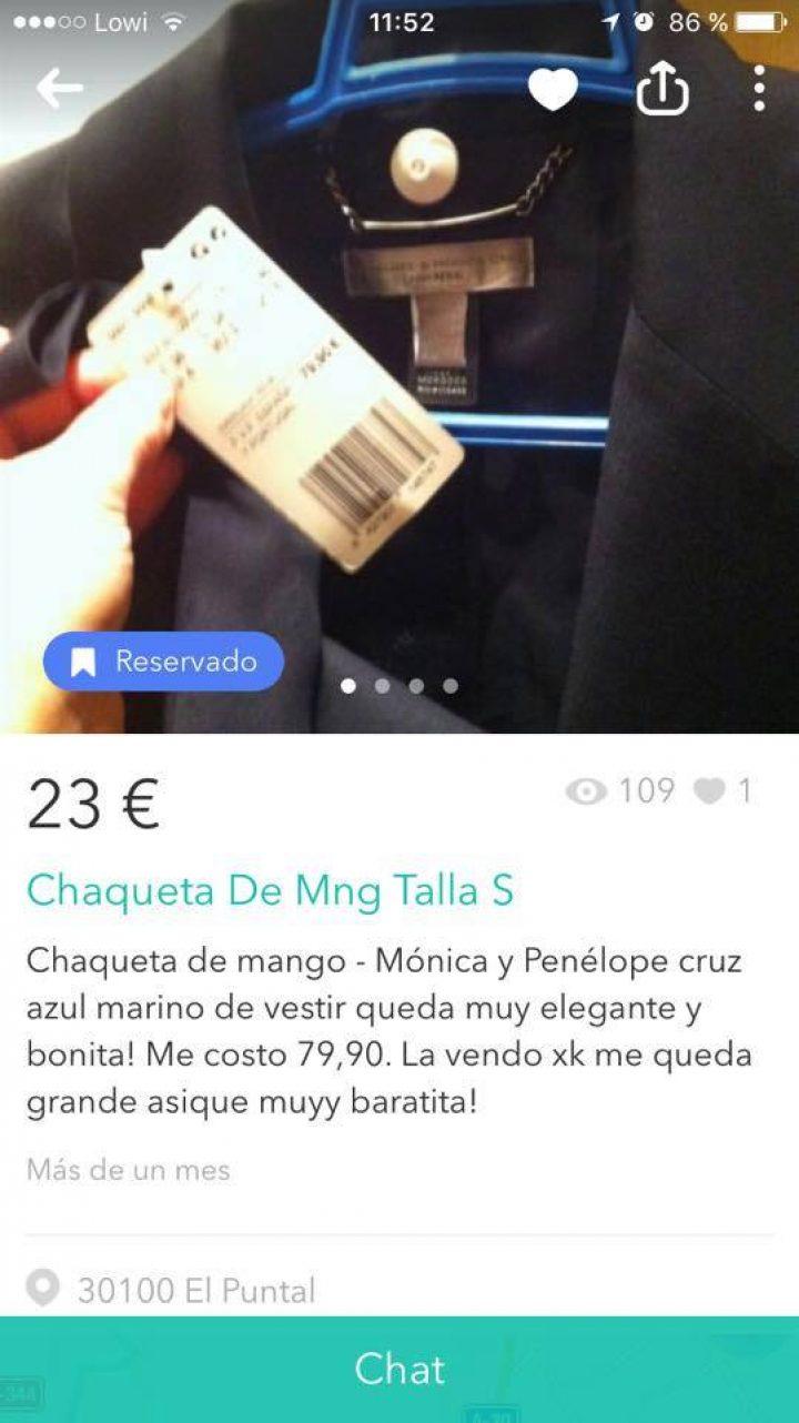 CHAQUETA DE MNG