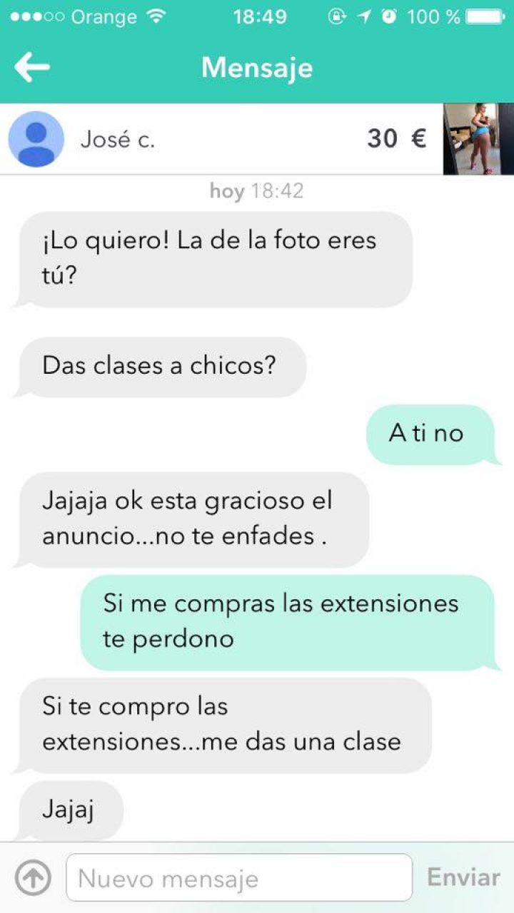 DAS CLASES A CHICOS?