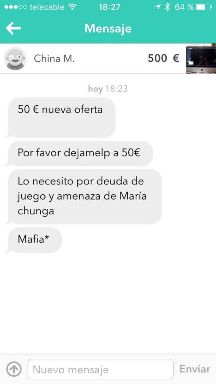 MARÍA CHUNGA