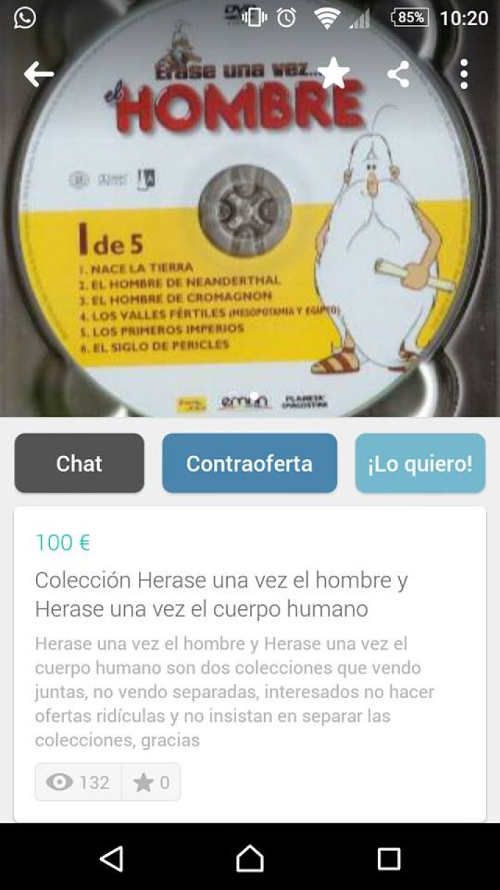 COLECCIÓN HERASE UNA VEZ EL HOMBRE