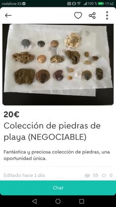 COLECCIÓN DE PIEDRAS DE PLAYA