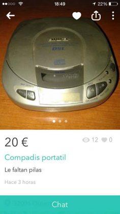 Compas Disc portatil