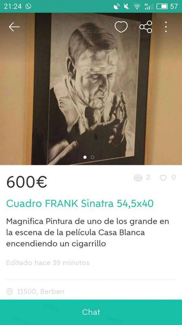 CUADRO FRANK SINATRA